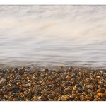 A beach of pebbles