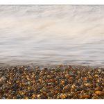 A beach of pebbles